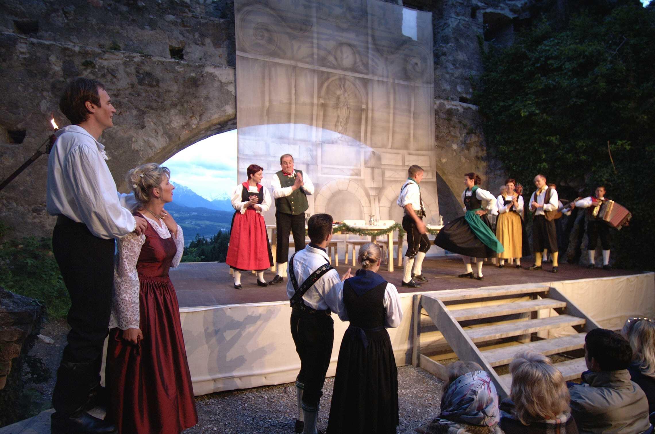 Thaurer Schlossspiele Tirol 2013