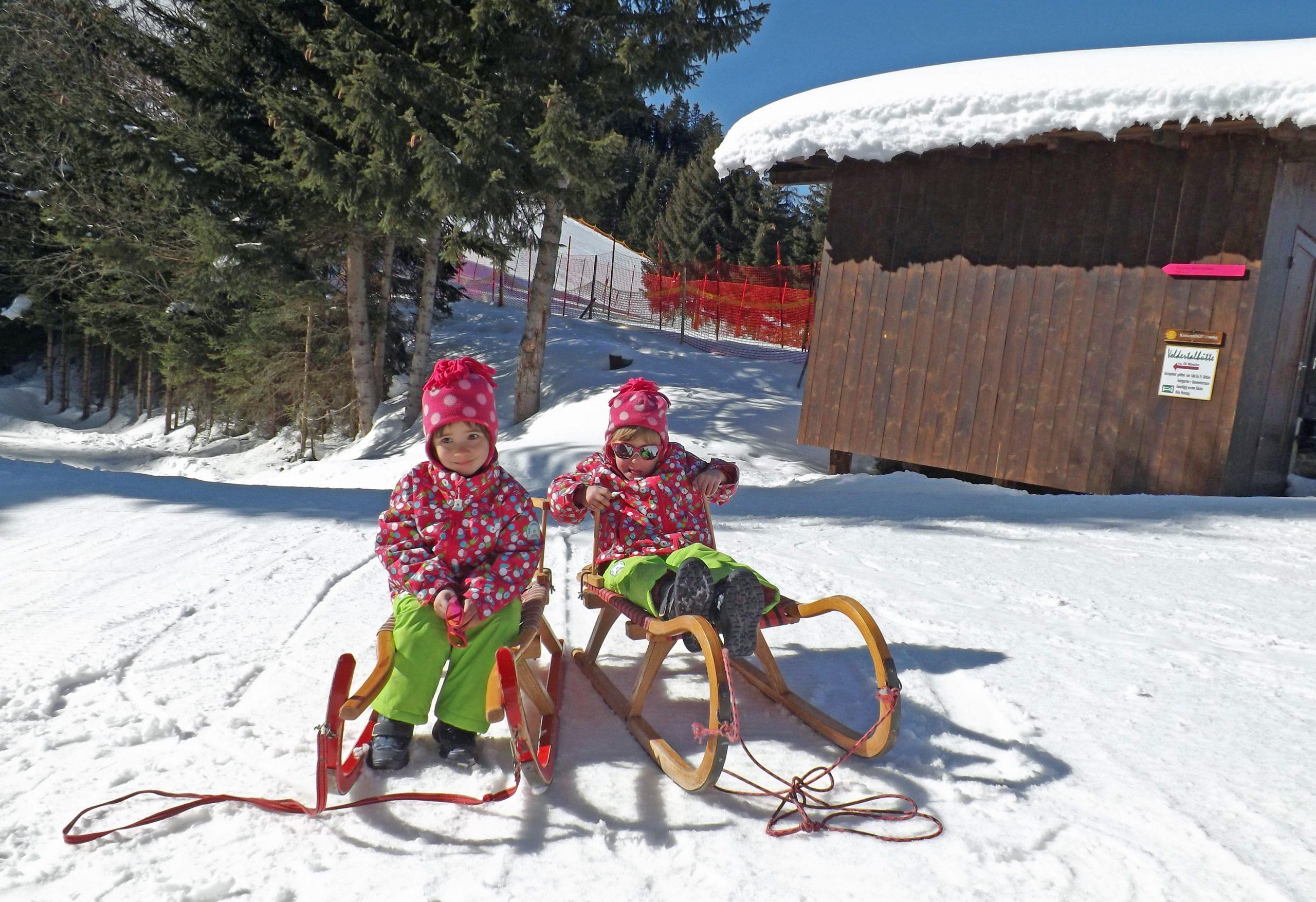 Ein winterlicher Familientag am Glungezer