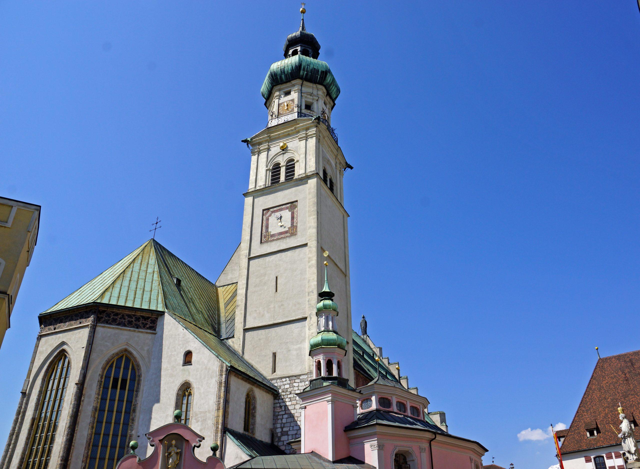 Haller Kirchen erzählen ihre Geschichten: Pfarrkirche  St. Nikolaus