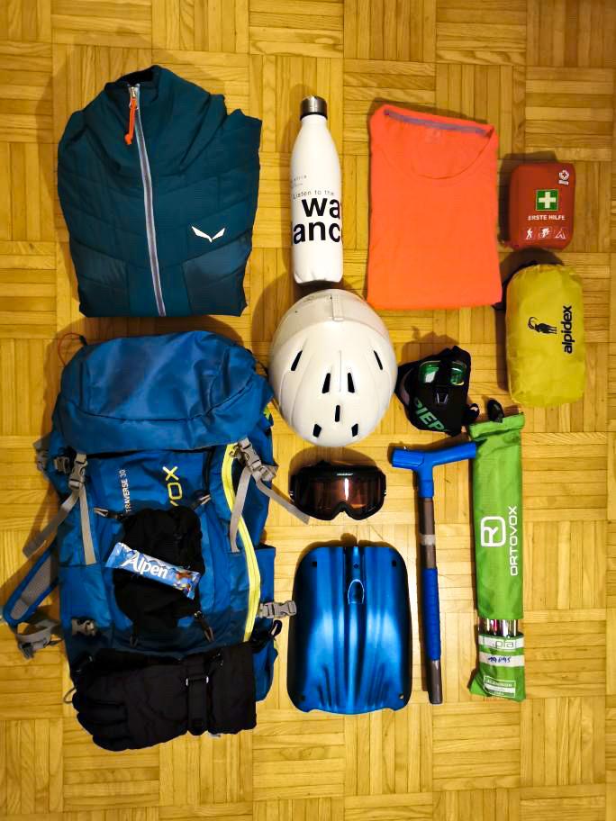 Ich packe meinen Tourenrucksack