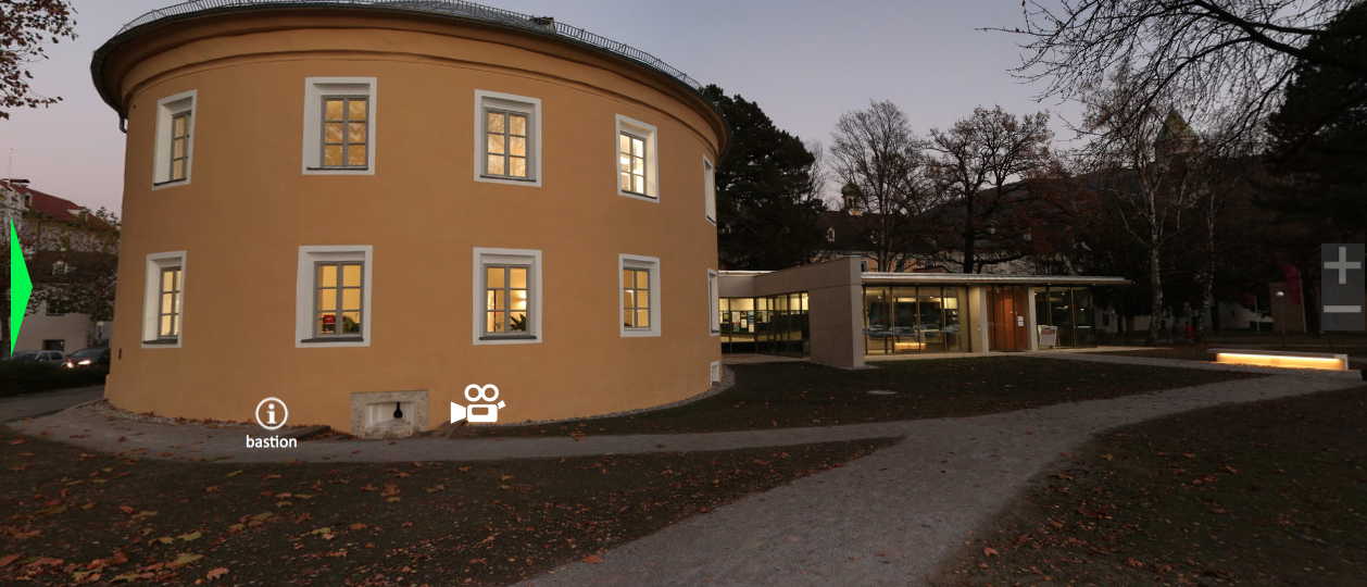 Ehemaliges Bastionsgebäude am Unteren Stadtplatz von Hall in Tirol