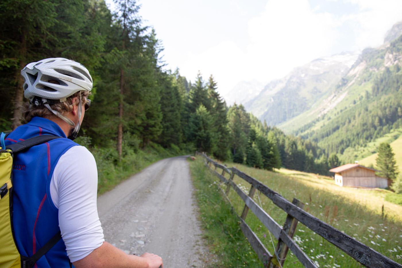 Mountainbike-Tour Steinkasern im Voldertal/Tirol