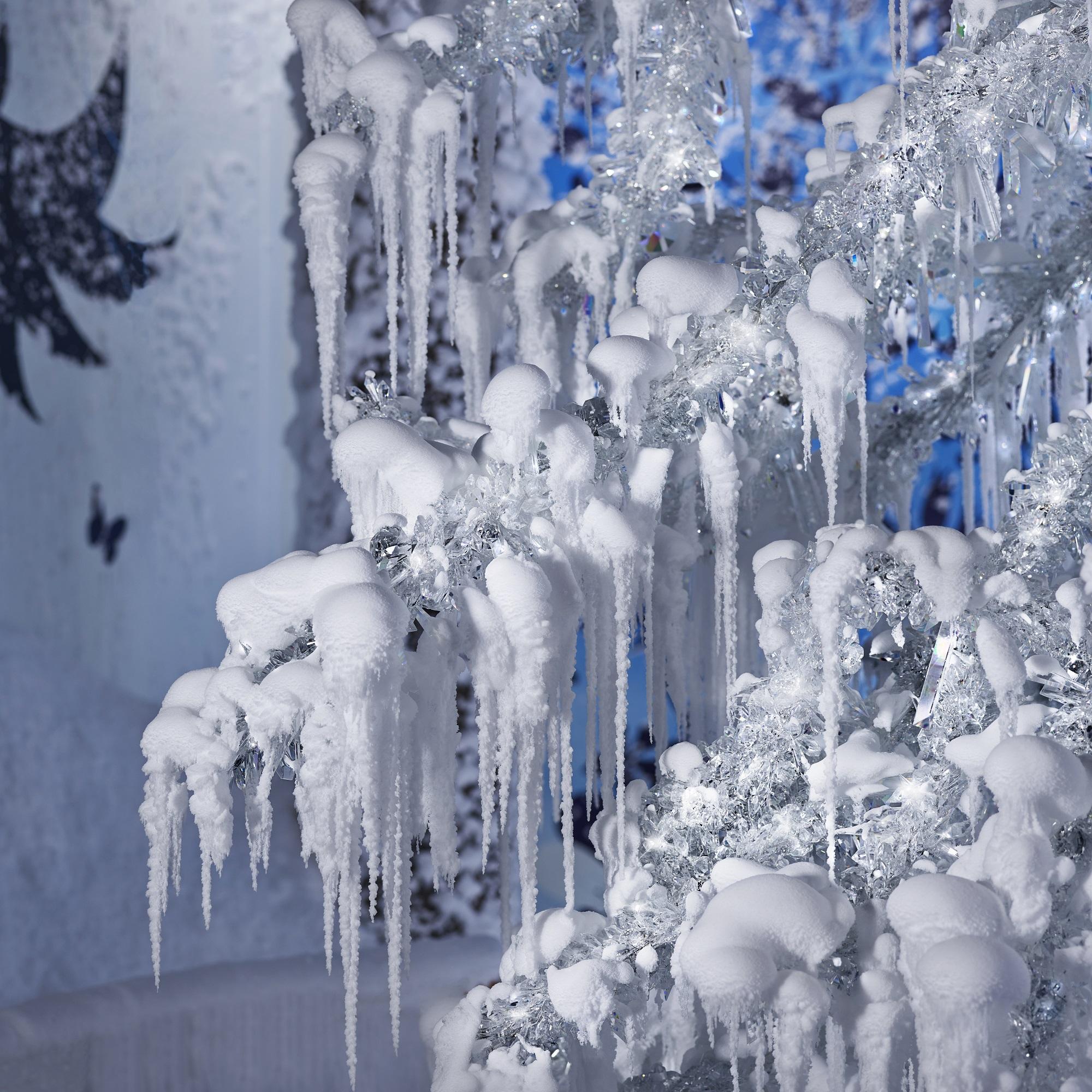 Schneezauber in den Swarovski Kristallwelten